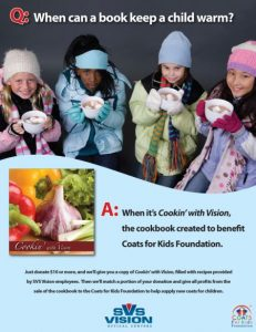 SVS Vision Partners with Coats for Kids